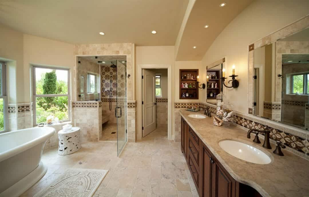 Custom Master Bathroom
