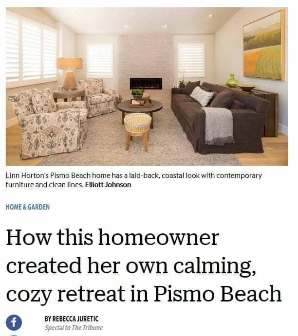 Article on My Pismo Beach Retreat