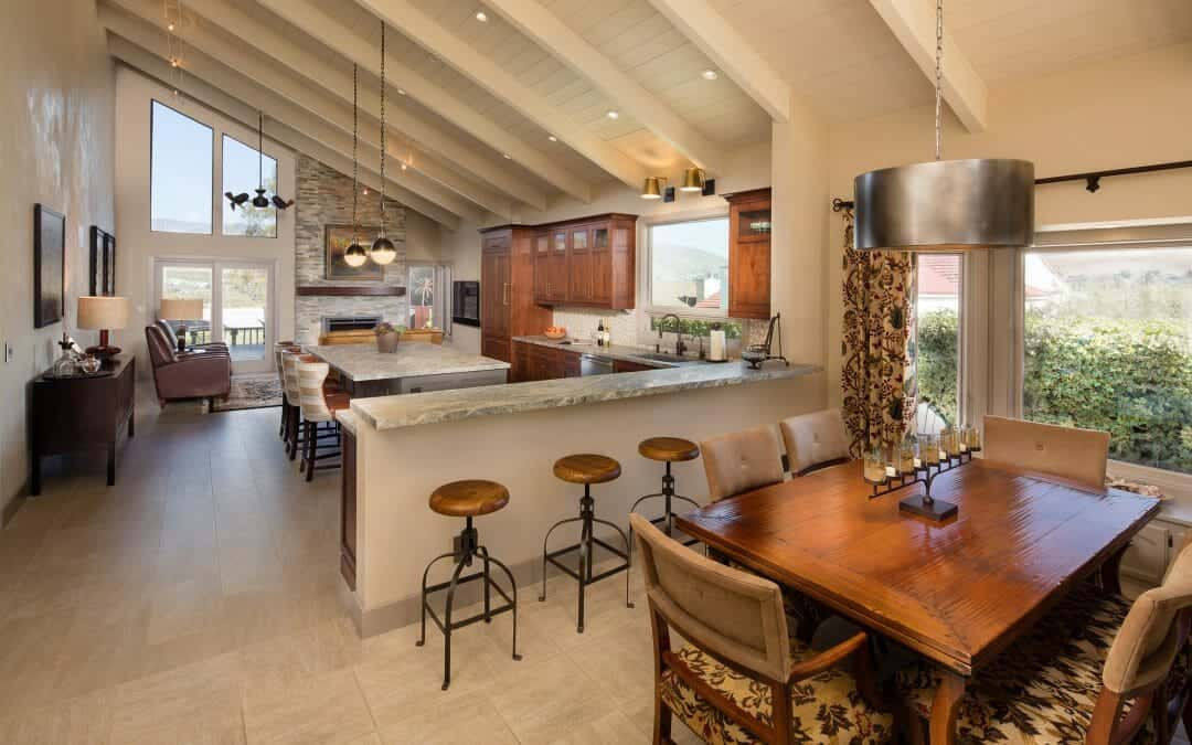 Opening up the Dining and Kitchen Areas