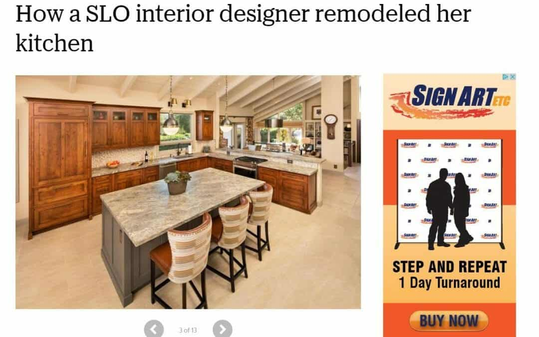 Article on My Kitchen Remodel in The Tribune